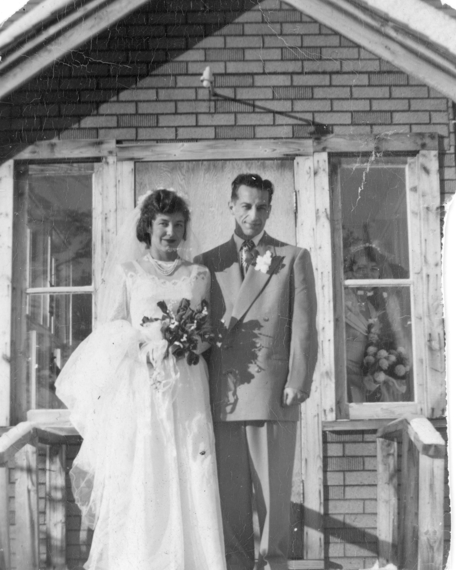 Wedding photo parents